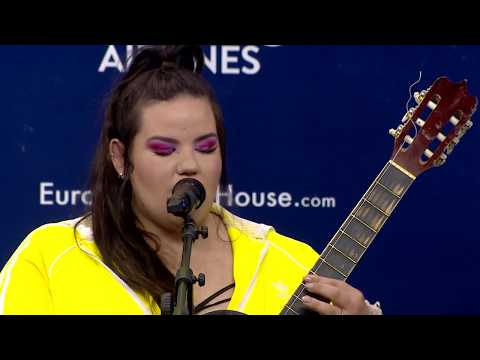 Netta - Toy | Acoustic Version at the Press Conference | Eurovision 2018