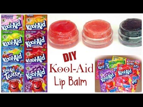 DIY Make LIP BALM Out of KOOL-AID !! (EASY)