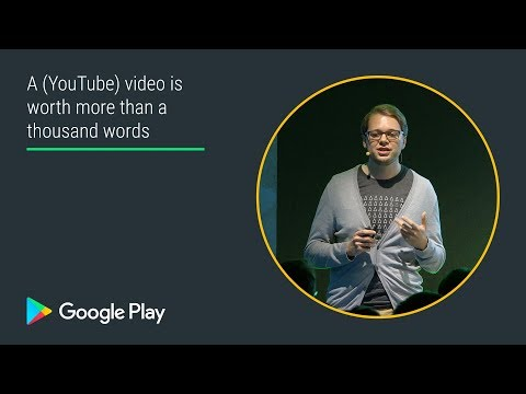A (YouTube) video is worth more than a thousand words (Games track - Playtime EMEA 2017)