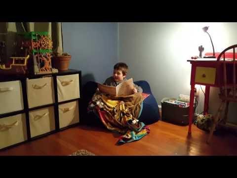 Syler's reading chair week 1
