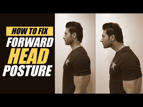 How to FIX the Forward Head Posture | Exercises & Stretching to fix FHP | Info by Guru Mann