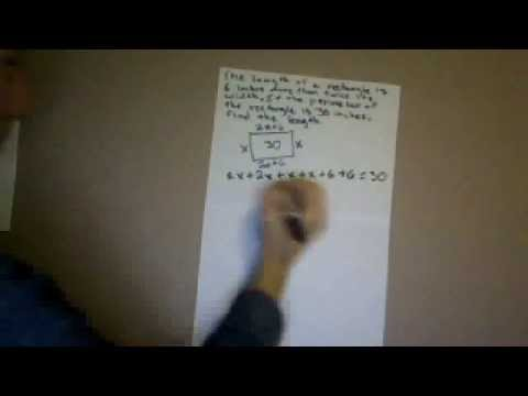 How to find the dimensions of a rectangle given its perimeter