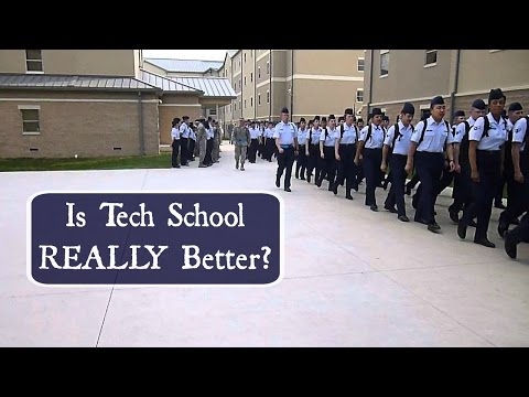 Transition from BMT to Tech School