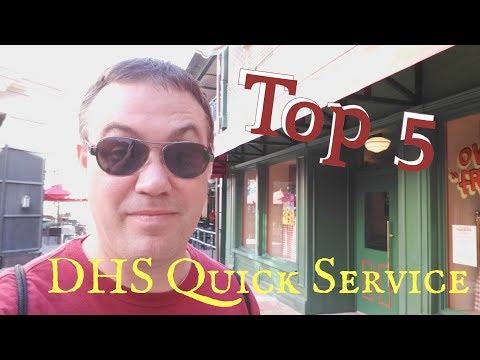 Top 5 Hollywood Studios Quick Service