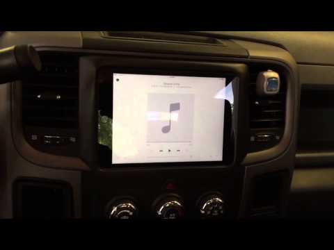 Custom Ipad Mini dash install 2013 Ram 1500 and Rearview camera