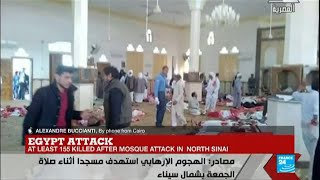 """Egypt North Sinai Attack: """"It started with a bomb, and attackers shot people fleeing the mosque"""""""