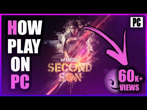 Download Infamous Second Son For PC/PS4|With PSx4 Emulator And Torrent file|Gameplay Proof|2017