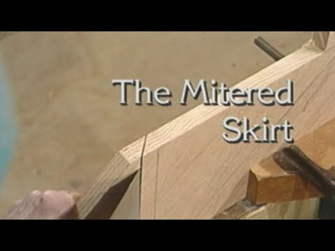 The Mitered Skirt - How to build stairs