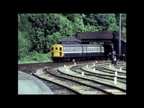 Tunbridge Wells West to Eridge in 1985  (inc the last passenger train)