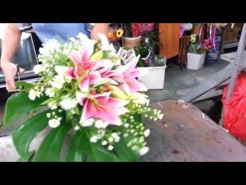 Florist Singapore | How to make Lily Hand Bouquet | Best Singapore Florist