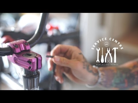 How to replace BMX forks - Colony BMX