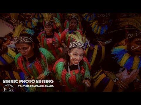 Ethnic Photo Editing | Photoshop CC Tutorial