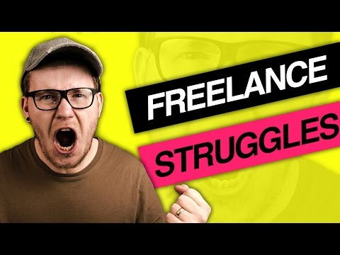4 Struggles Of Being A Freelance Graphic Designer