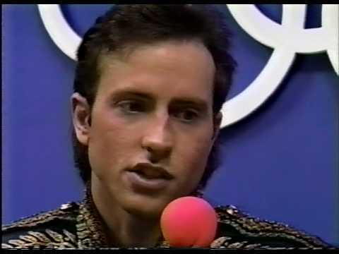Interview with Brian Boitano (USA)  - 1988 Calgary, Men's Long Program