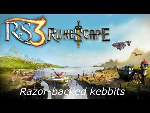 Runescape RS3: Razor-backed kebbit Tutorial