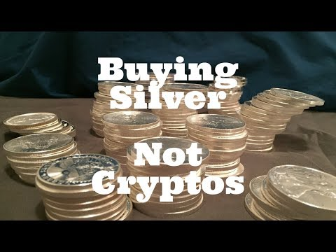 Why I'm Buying Silver Instead of Bitcoin.