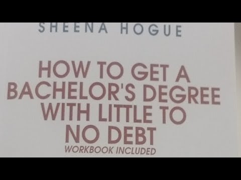 @ 9:15PM CST-How To Get A Bachelors Degree With Little Debt