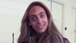 """Carmella vows to make Nikki Bella look """"fabulous"""" at WWE TLC, Dec. 4, 2016"""
