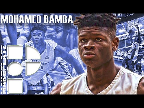 5-Star Mohamed Bamba Dominates High School with a 7'8
