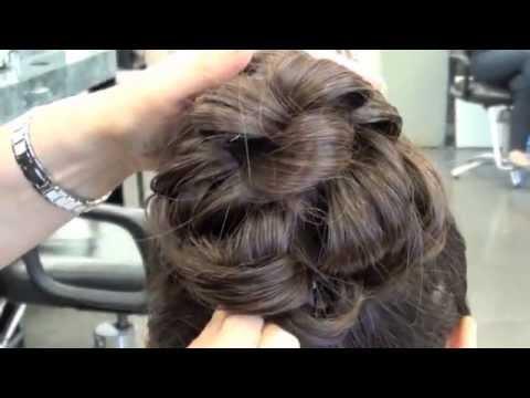 Updo Hairstyle: easy; beginner