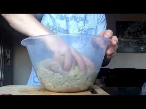 Basic stuffing using sausage meat 24.12.14