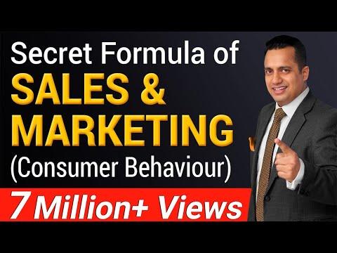 Secret Formula of Sales and Marketing  | Consumer Behaviour  | Dr Vivek Bindra