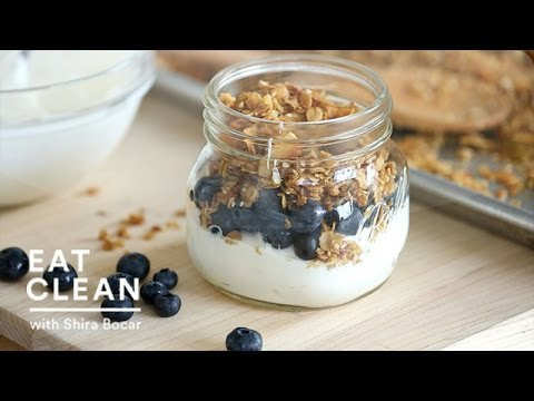 Golden Brown Maple Granola Recipe - Eat Clean with Shira Bocar