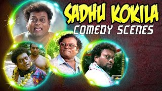 Sadhu Kokila Best Comedy Scenes | 2018 Latest Hindi Dubbed Funny Hilarious Scenes