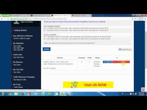 How to add PayPal account into Trafficmonsoon?