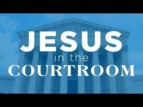 Jesus in the Courtroom [Zach Van Dyke]