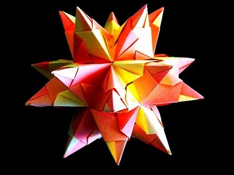 How to make an Origami Great Stellated Dodecahedron