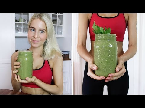 Healthy Post Workout Smoothie (RAW + VEGAN)