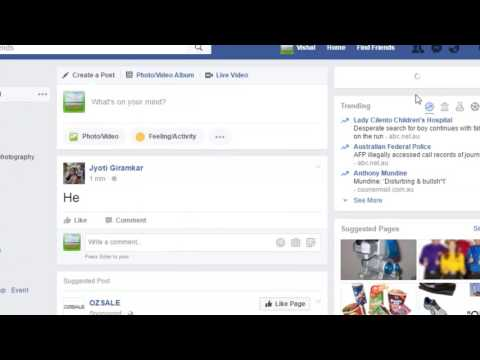 Timeline review in Facebook