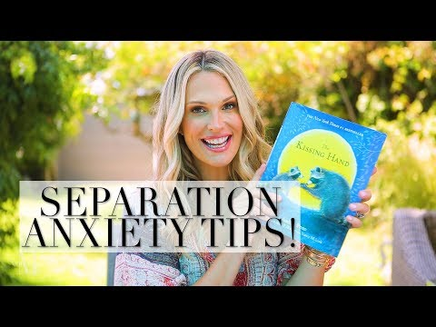 Back to School Separation Anxiety Tips for You and Your Kids