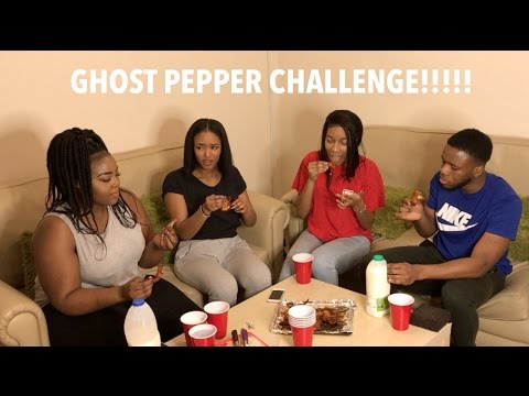 GHOST PEPPER CHALLENGE | HOT WINGS