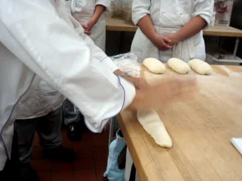 Shaping French Bread