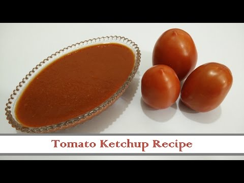 Tomato Ketchup Recipe in Hindi by Cooking with Smita - How to make Tomato Ketchup at Home