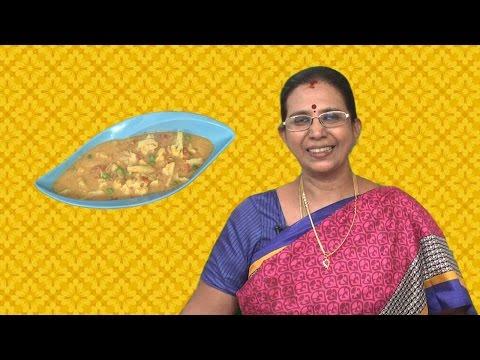 Cauliflower Kurma | Mallika Badrinath Recipes