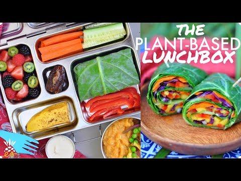 Plant-based School Lunch Ideas + A Raw Vegan Collard Wrap Recipe