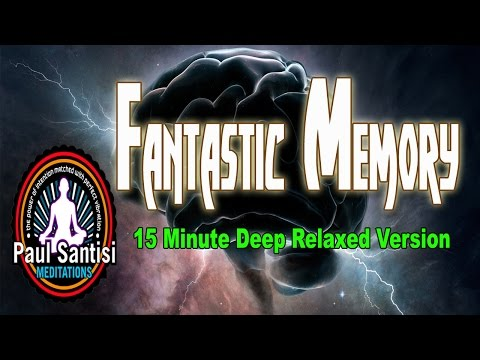 15 Minute Release Your Photographic Memory Guided Meditation 3D Affirmations Theta Paul Santisi