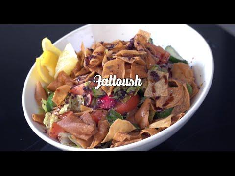 Food recipe: Fattoush