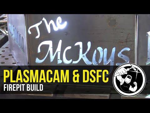 Fire Pit build, PlasmaCam & Dual Shield Flux Core