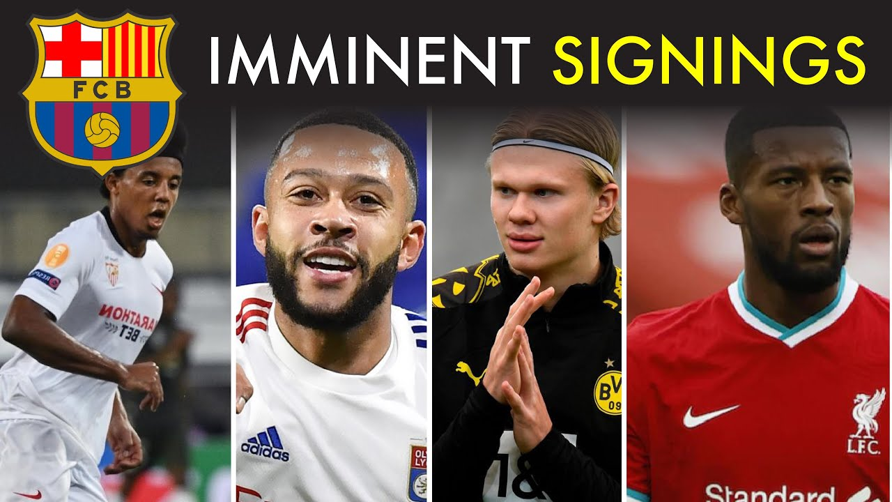 Barcelona Imminent Signings and 2 New Transfer Targets
