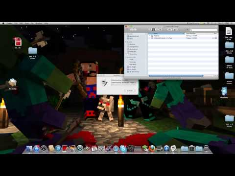 how to make a modded server 1.6.4 from beginning (MAC)