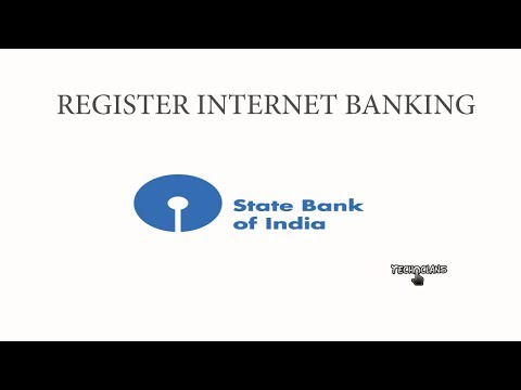 HOW TO REGISTER INTERNET BANKING ON SBI