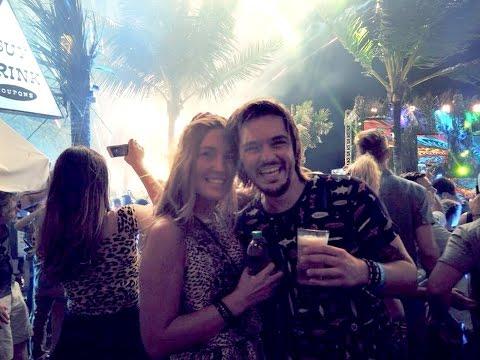 Bobby & Mary celebrating NYE in Bali.