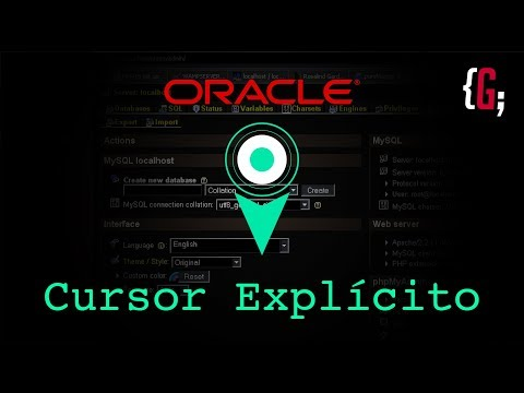Tutorial Cursores Explícitos de Oracle