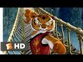 Kung Fu Panda 2008 The Furious Five Bridge Fight Scene 710 Movieclips