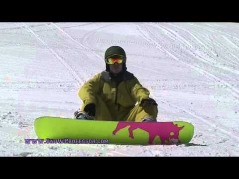 How to Snowboard: Step 8 - C Turns