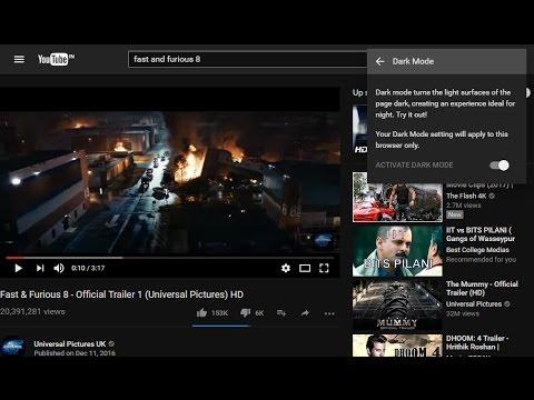 How To Activate YouTube Hidden 'Dark Mode'